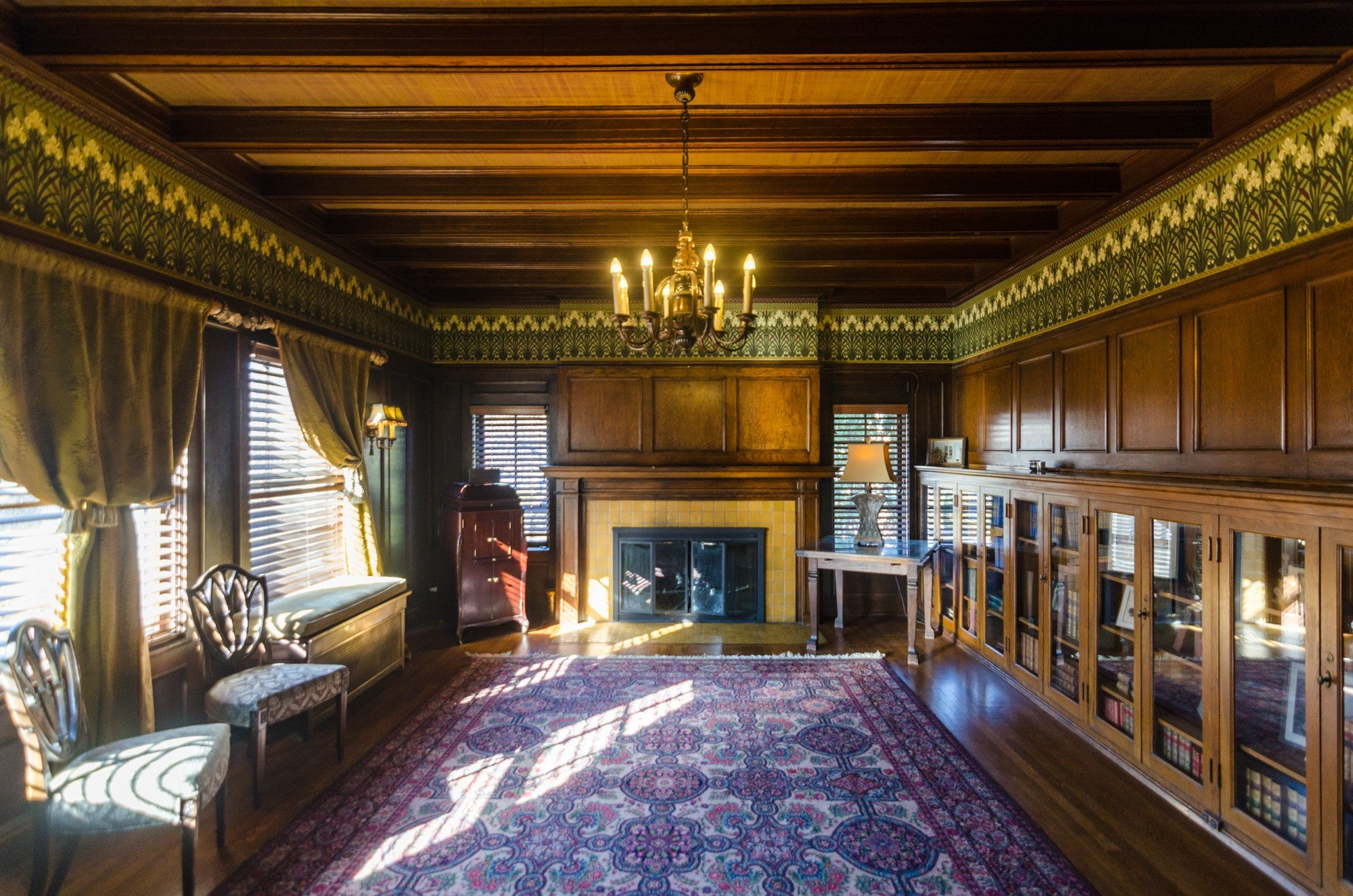 Cheney Mansion interior