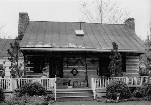 Front of McAtee's Tavern, 1995.