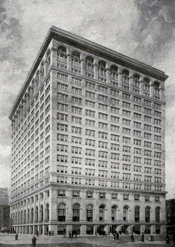 Continental Bank Building (est. 1915).