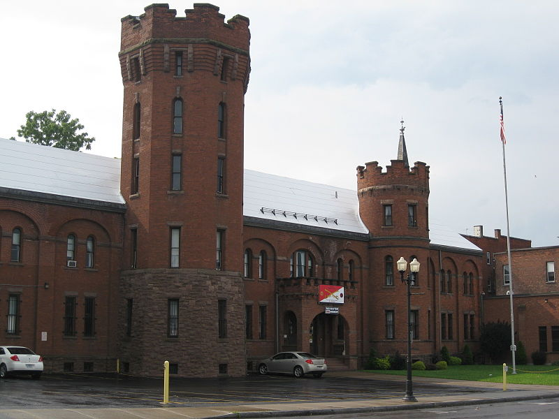 The Geneva Armory was originally built in 1892 and expanded in 1906. The National Guard still occupies the building today.