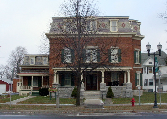 Built in 1869, the Howe House is now a museum operated by the Phelps Community Historical Society.