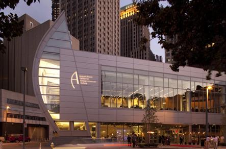 The August Wilson Center, Exterior