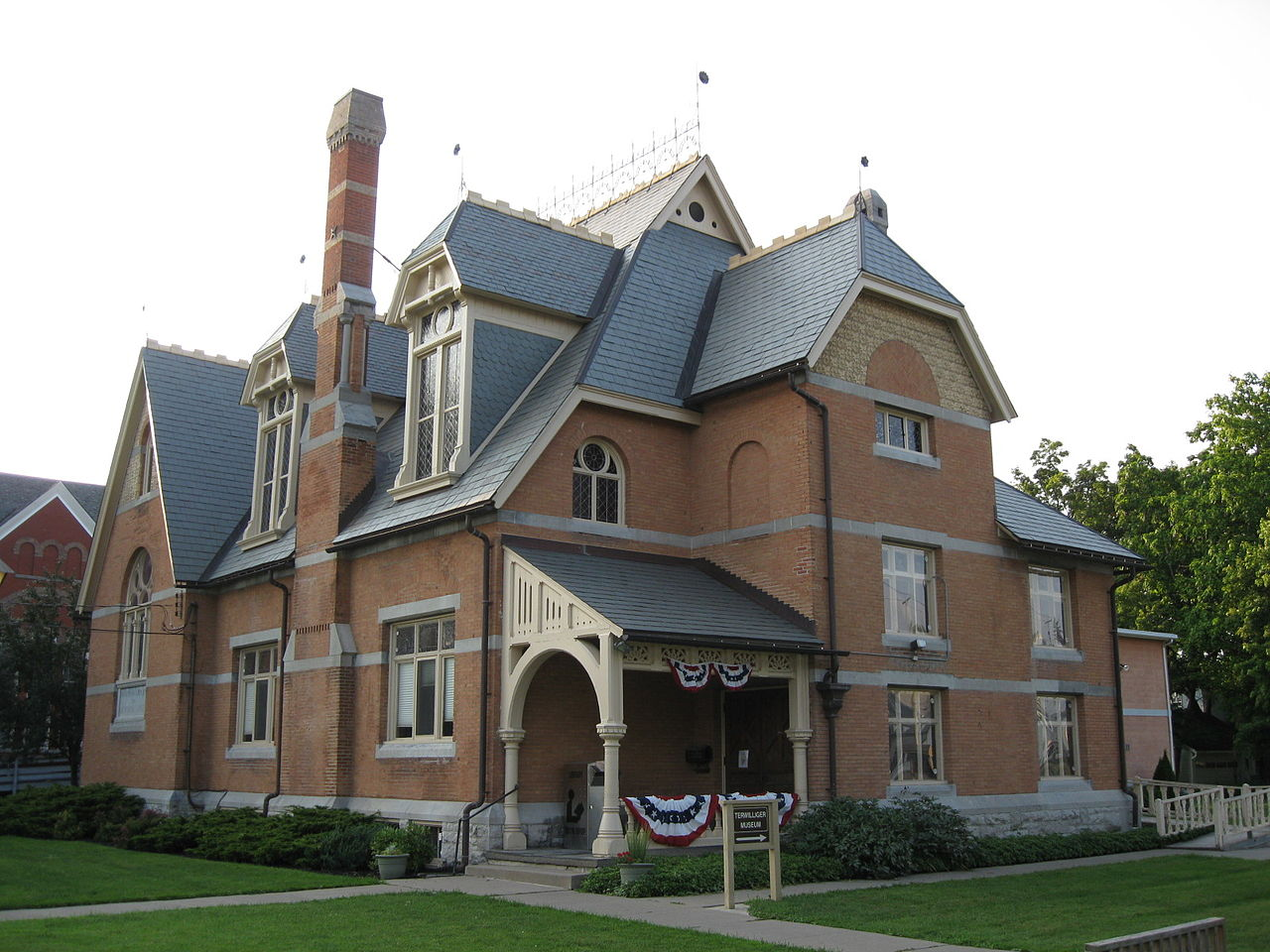 The Waterloo Library & Historical Society was founded in 1875 and is located in this historic Queen Anne building which was constructed in 1883.