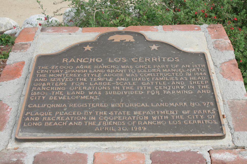 California Historic Landmark Plaque #978