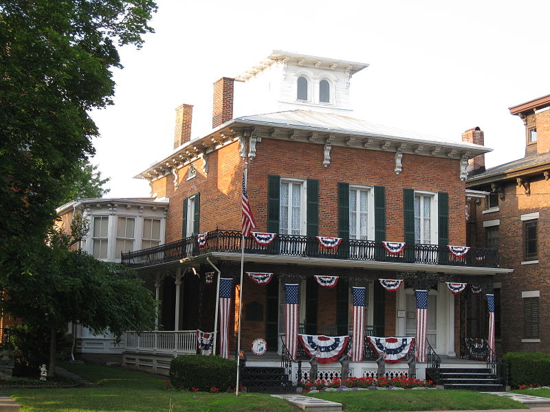 The 1830s William Burton House is the location of the National Memorial Day Museum.