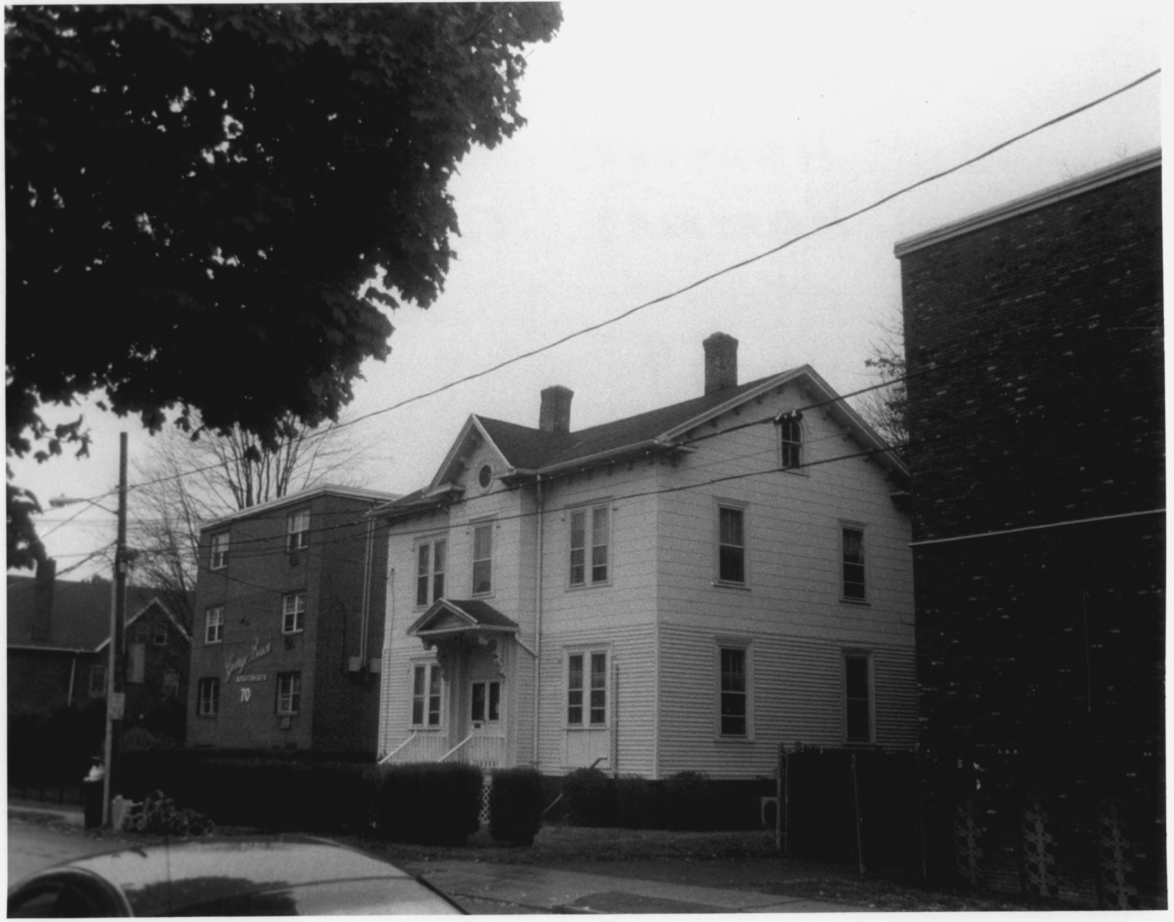 Allen Place - Lincoln Street Historic District Photo Record, Maintained by the NPS, Photo 9