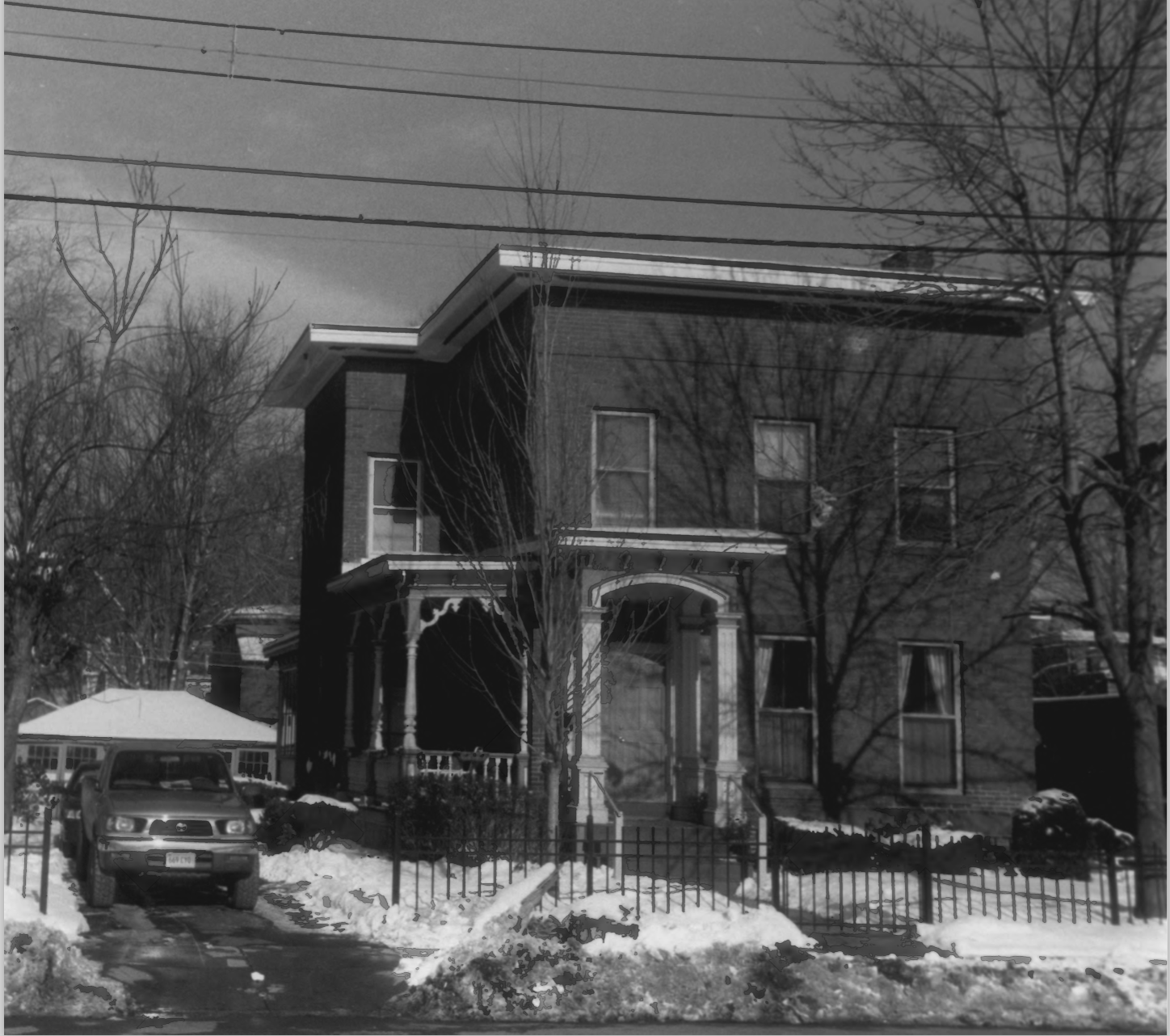 Allen Place - Lincoln Street Historic District Photo Record, Maintained by the NPS, Photo 16