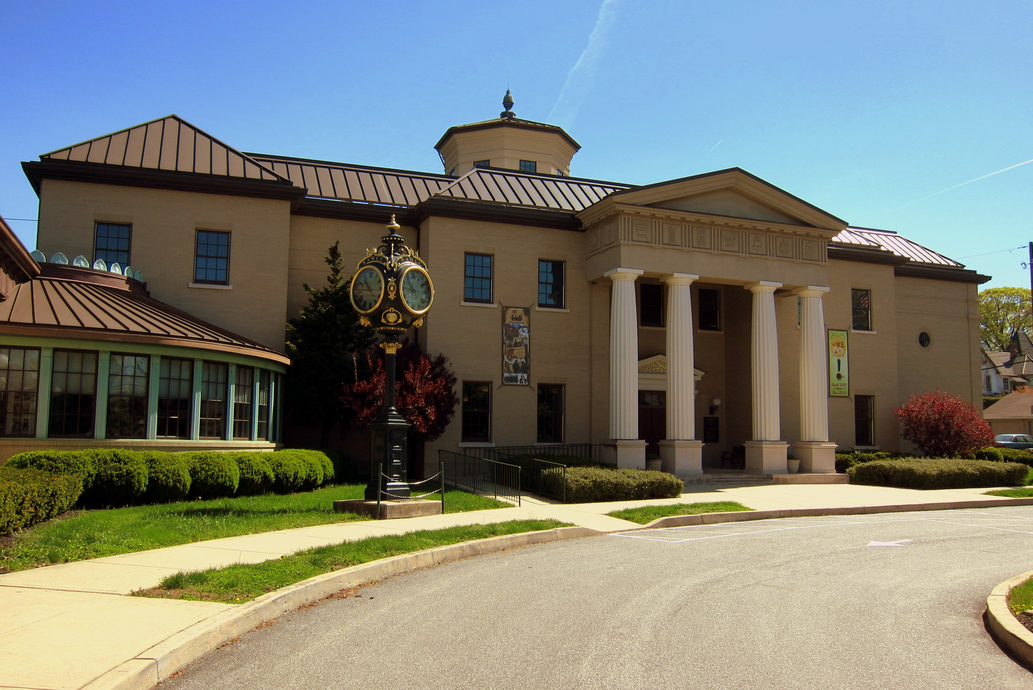 The home of the National Watch and Clock Museum since 1977.