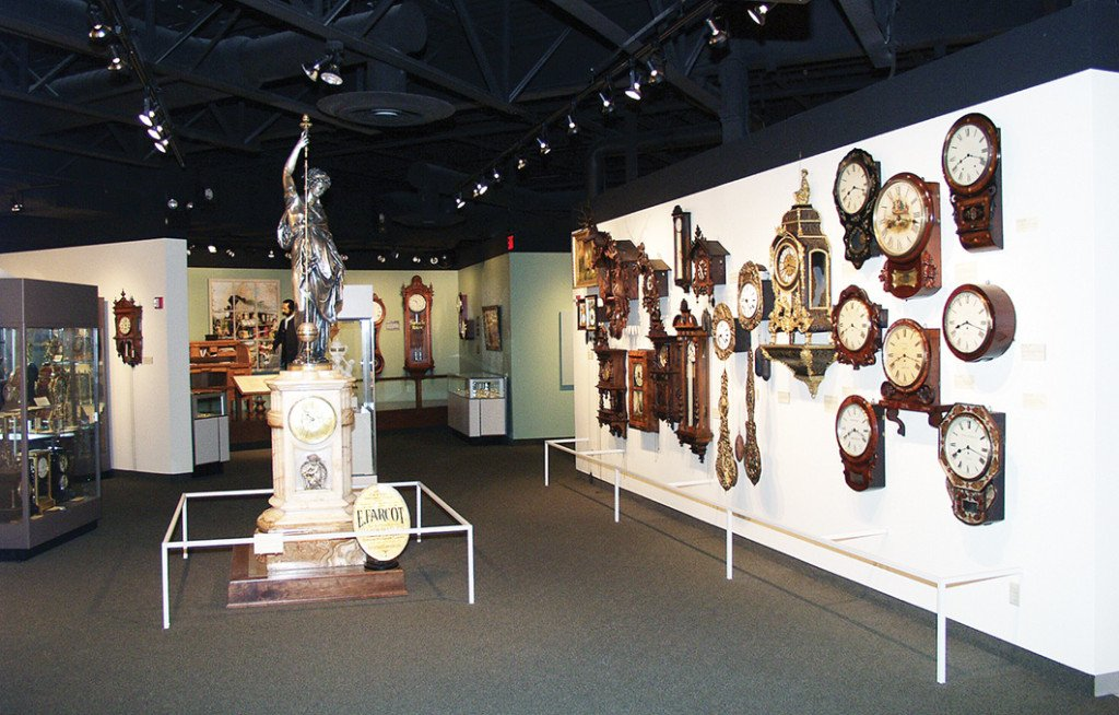 What time is it?  Just a few of the clocks on display at the NWCM.
