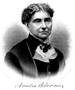 Amelia Bloomer (1818-1894)