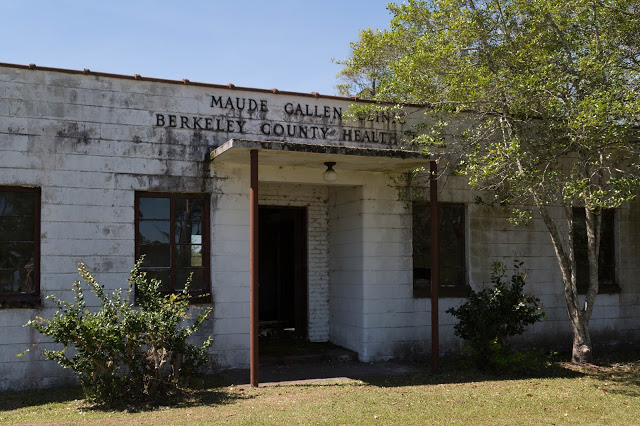 A picture of the exterior of Maude Cullen's health clinic today.
