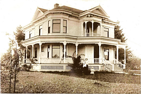 Brown House circa 1905