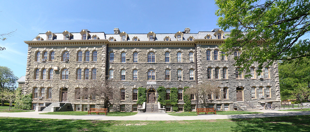 Morrill Hall was built in 1868, the first building for the university.