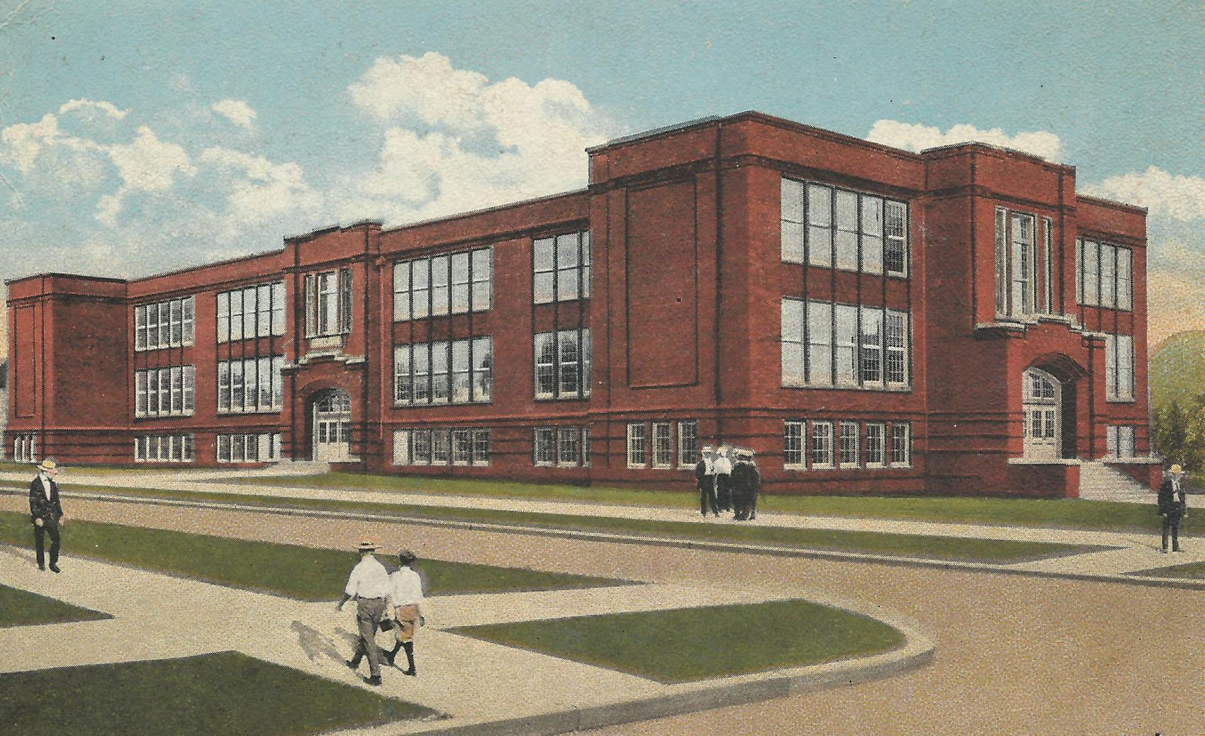 Postcard of Enslow Middle School
