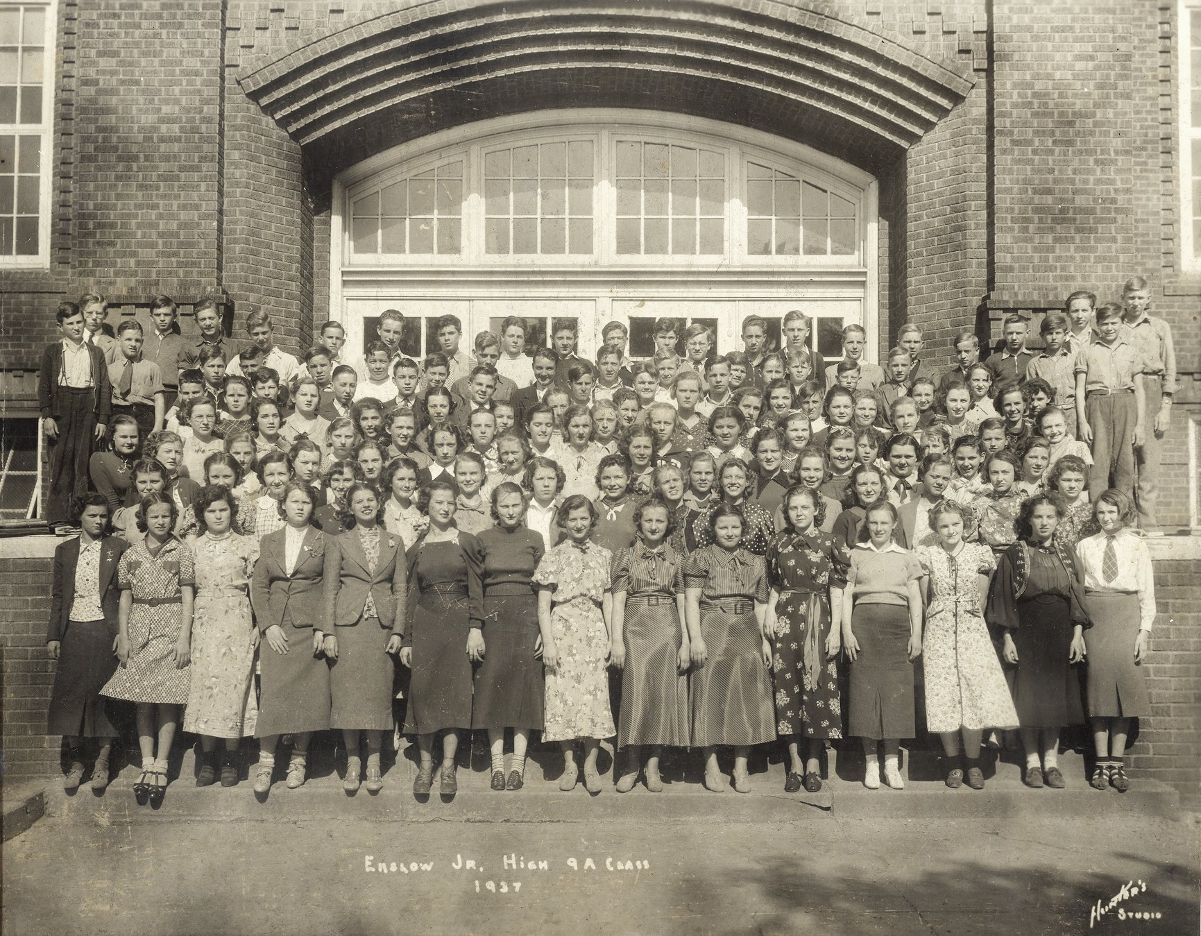 The 1937 Class of Enslow Middle School