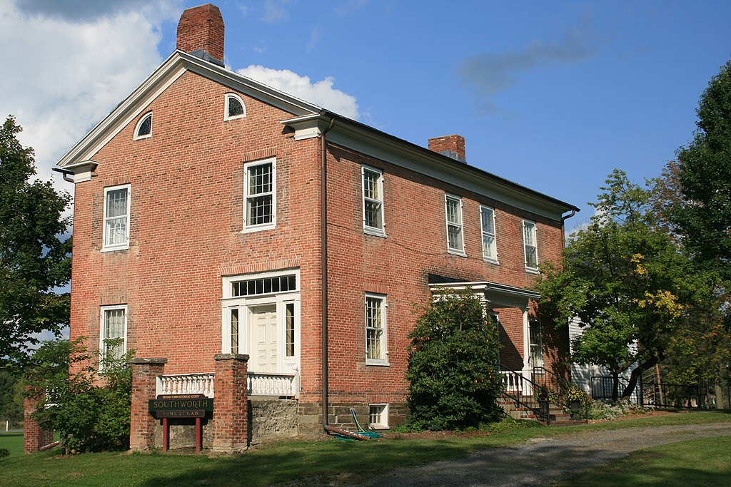 Southworth House was built in 1836. It is now home to the Dryden Historical Society.