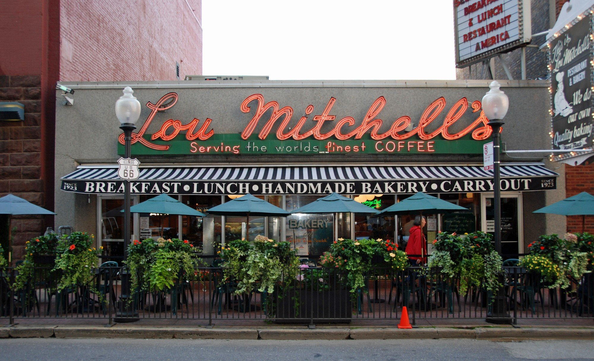 Lou Mitchell's Restaurant in Chicago, built in 1949.