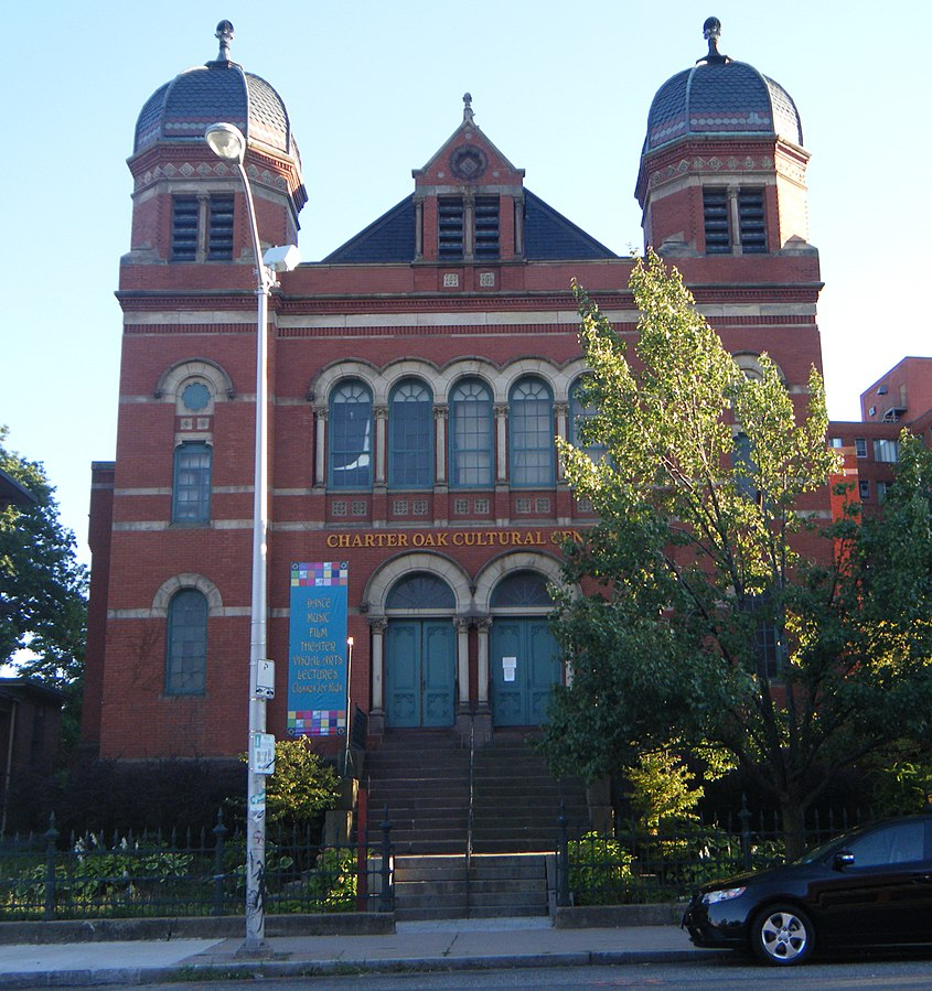 Congregation Beth Israel's synagogue on Charter Oak Avenue, now home to a cultural center.
