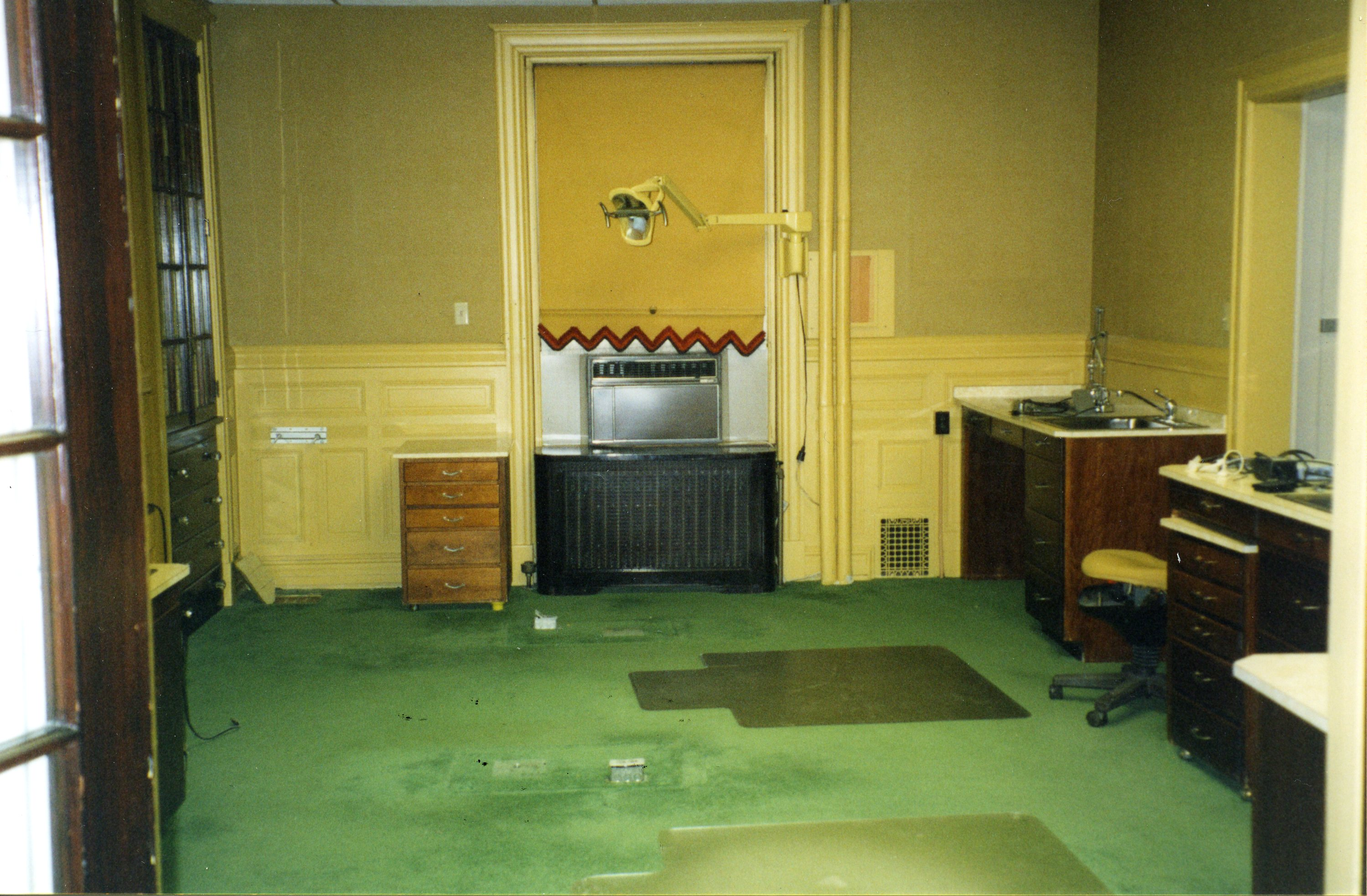 Examination Room, pre-restoration (2002)