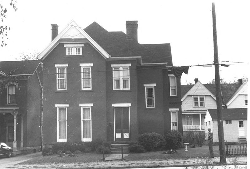 The house as it looked in 1976, the year it achieved National Historic Landmark status.