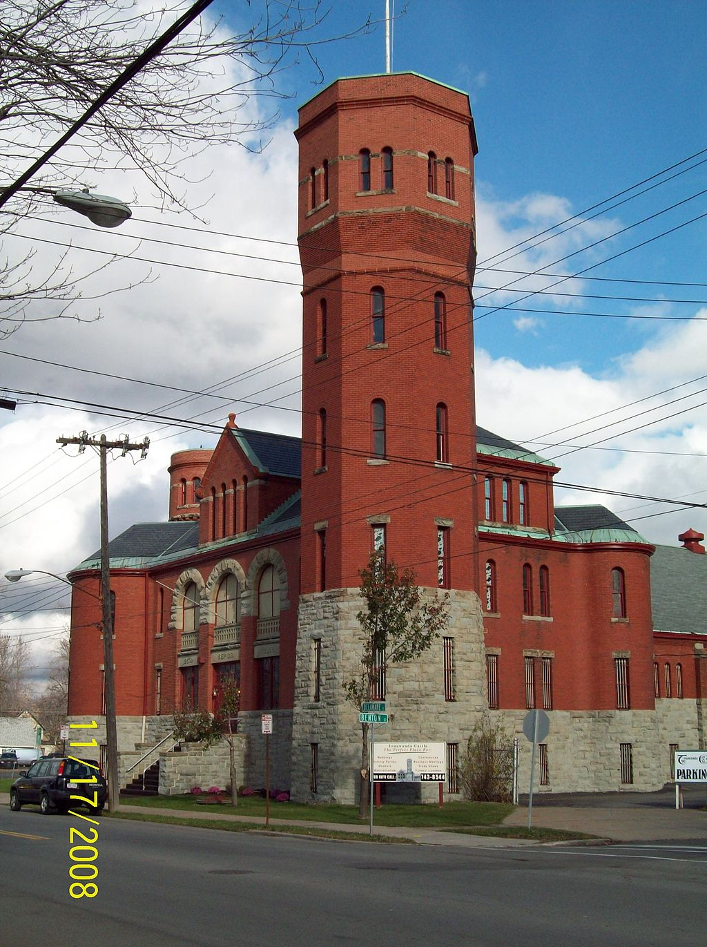 The Tonawanda Armory was built in 1896 in just six months.
