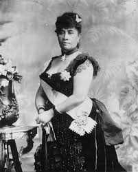Queen Liliuokalani, pictured, was the queen of the Kingdom of Hawaii before she was overthrown in 1893.