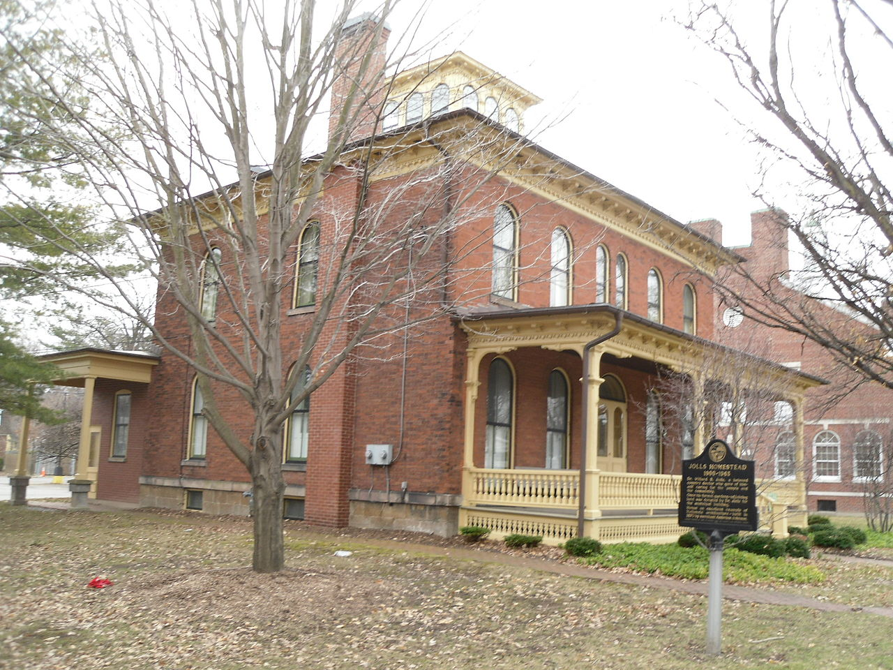 The Orchard Park Historical Society is located at this 1870 historic home.