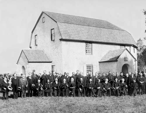The First District Conference of the Pennsylvania Ministerium met at the church in 1887 to commemorate the 100th anniversary of the death of Henry Muhlenberg.