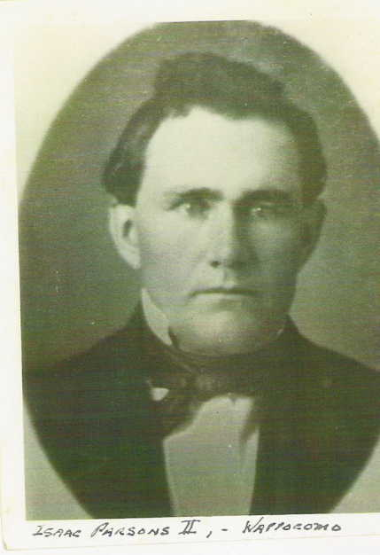 Isaac Parsons, date unknown.