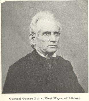 General George Potts, who helped Jacob Green, and was also the prosecutor in the kidnapping case against James Parsons, Jr. Photo from 1870.