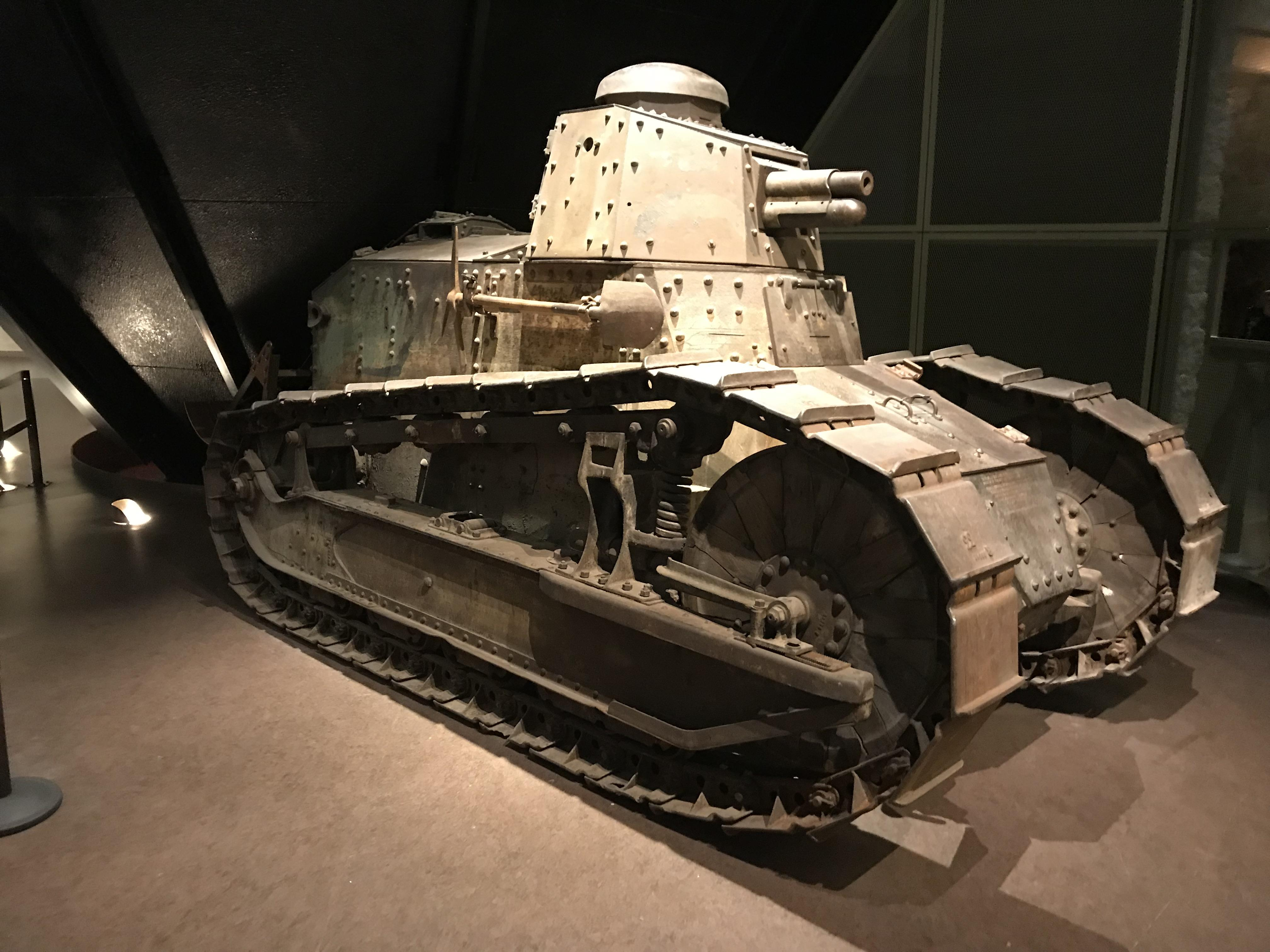FT17 French Tank used in WW1
