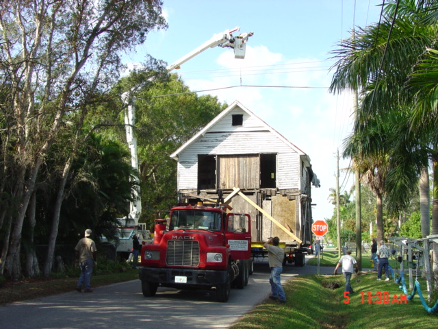 Moving the Burton Store (2006)