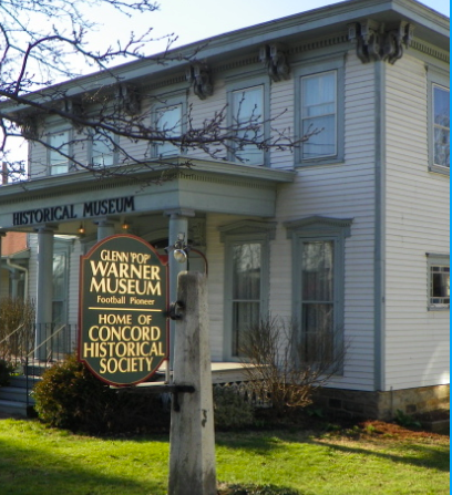 The Concord Historical Society/Glenn 'Pop' Warner Museum