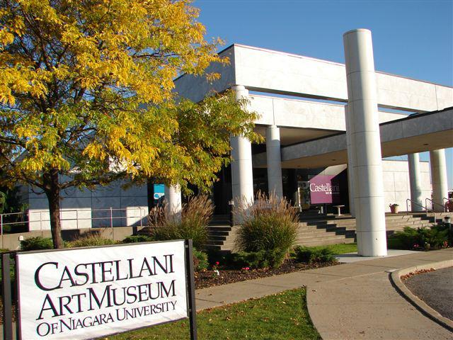 The Castellani Museum of Art was built in 1990