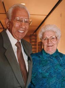 Armand J. Castellani and his wife, Eleanor.