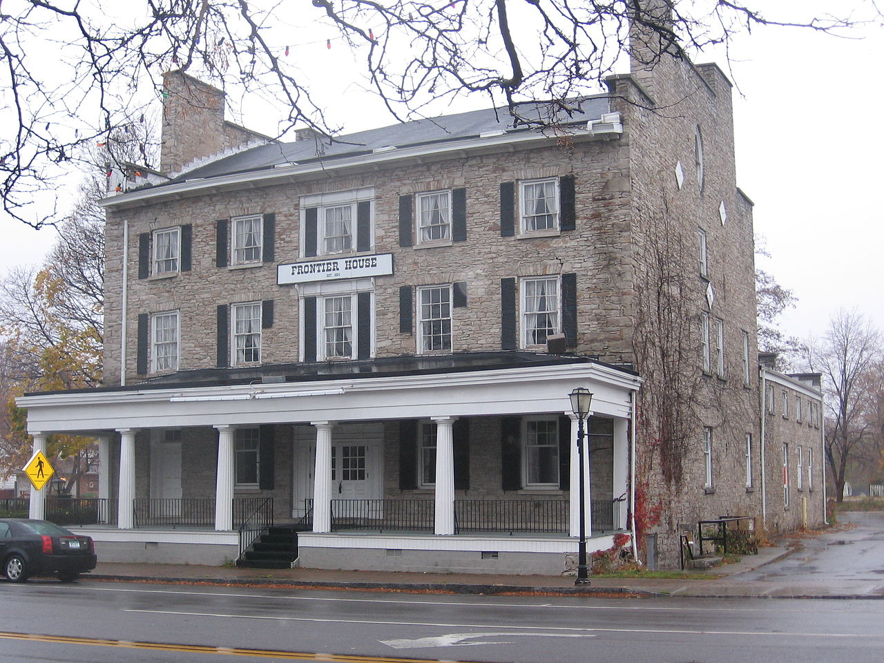 Frontier House was once one of the country's finest hotels. Many famous people stayed at the hotel including Mark Twain and Henry Clay.