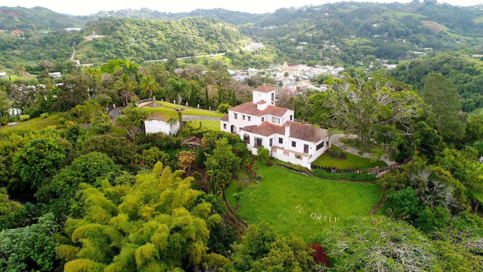 """El Cortijo"" surrounded by nature."