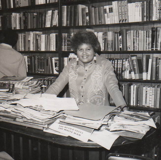 Mayme A. Clayton at the Museum