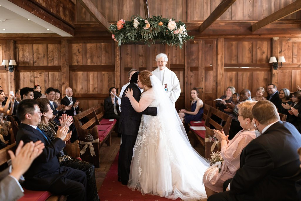 The meetinghouse hosts numerous weddings and other social events throughout the year.