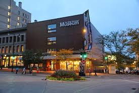 The Wisconsin Historical Museum is located in downtown Madison at the corner of W Mifflin St and N Carroll St on the Capitol Square.