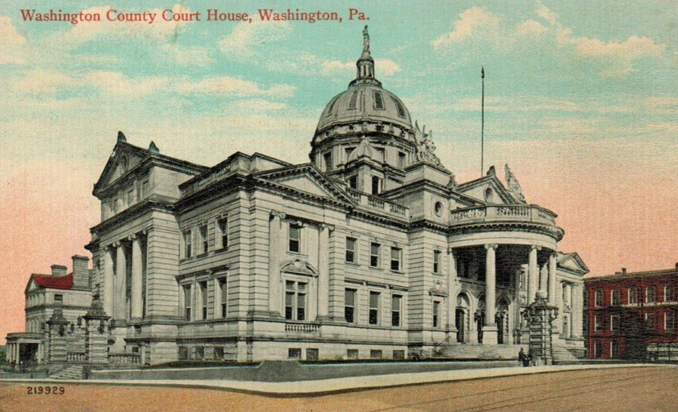 This is a postcard of the Courthouse from 1925.