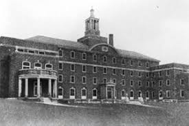 This is a picture of the 1927 hospital, consisting of the merger of City Hospital and Washington Hospital.
