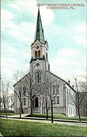 This is a postcard of the church from 1908.