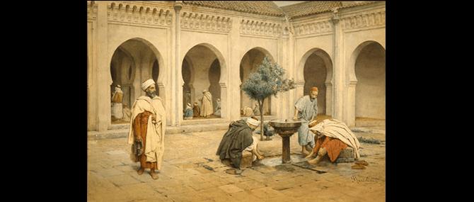 Preparing for Prayer, Filippo Bartolini (Italian, active 1861-1908), Italy, 19th century, about 1875.