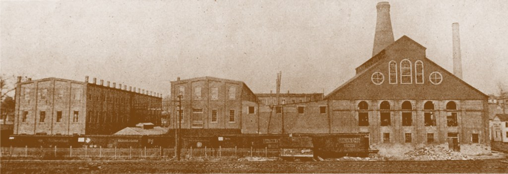 Duncan & Miller Glass Company plant located in Washington, PA.