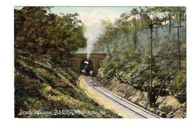 Postcard of Brady's Tunnel.