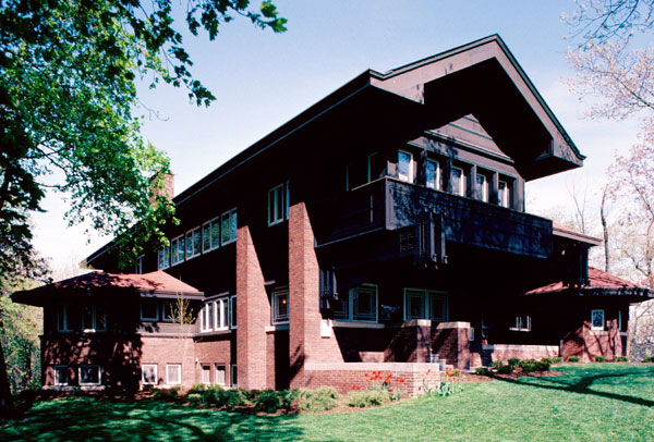 Designed by renowned architect Louis H. Sullivan, the Bradley House was completed in 1909 and became a National Historic Landmark in 1976.