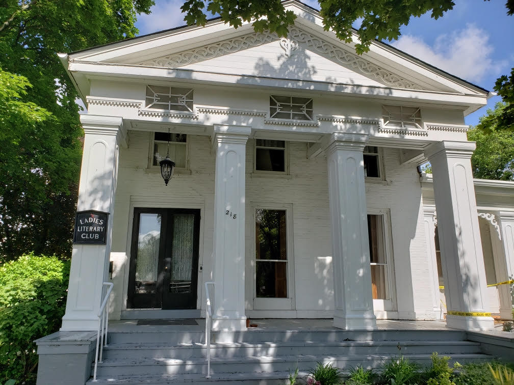 The Ladies' Literary Club in Ypsilanti