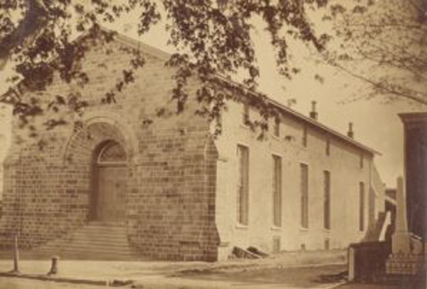 The convention was held at Horticultural Hall in West Chester, PA in 1852.