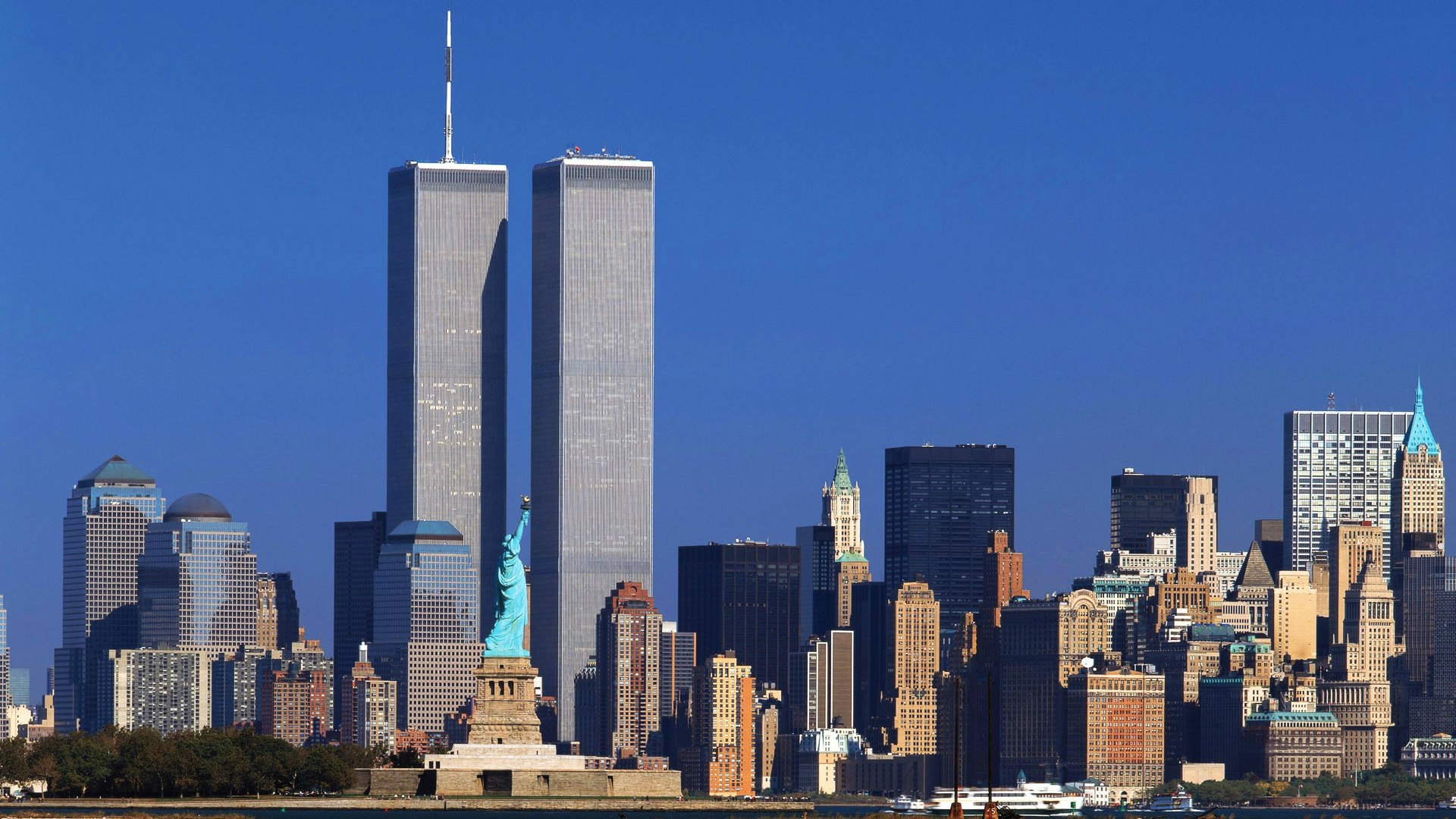 World Trade Center before the attacks on 9/11